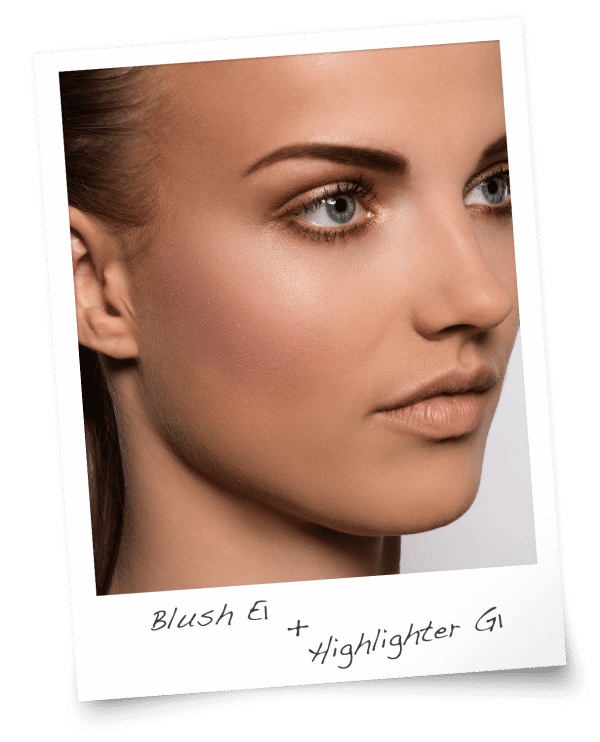 Blush E1 & Highlighter G1