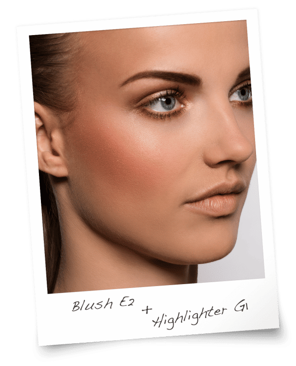 Blush E2 & Highlighter G1