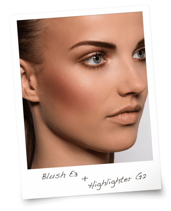 Blush E3 & Highlighter G2