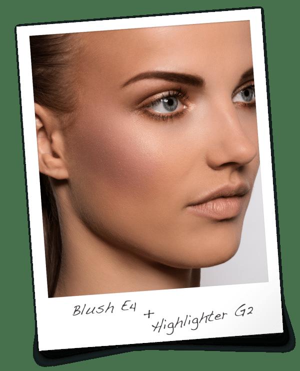 Blush E4 & Highlighter G2